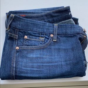 """7 for all mankind new condition """"A"""" pocket jeans"""